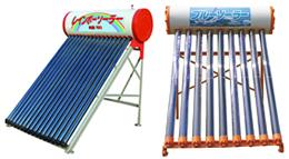 集熱器により太陽光を熱エネルギーに変換し、不凍液などの熱媒体を暖め、お風呂や台所の給湯、周辺機器の組合せにより冷暖房に利用するシステムです。