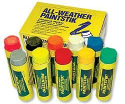 実際のペンキがスティック状になっており、天候や色あせに耐性があります。